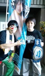 伊藤さんと旭選手